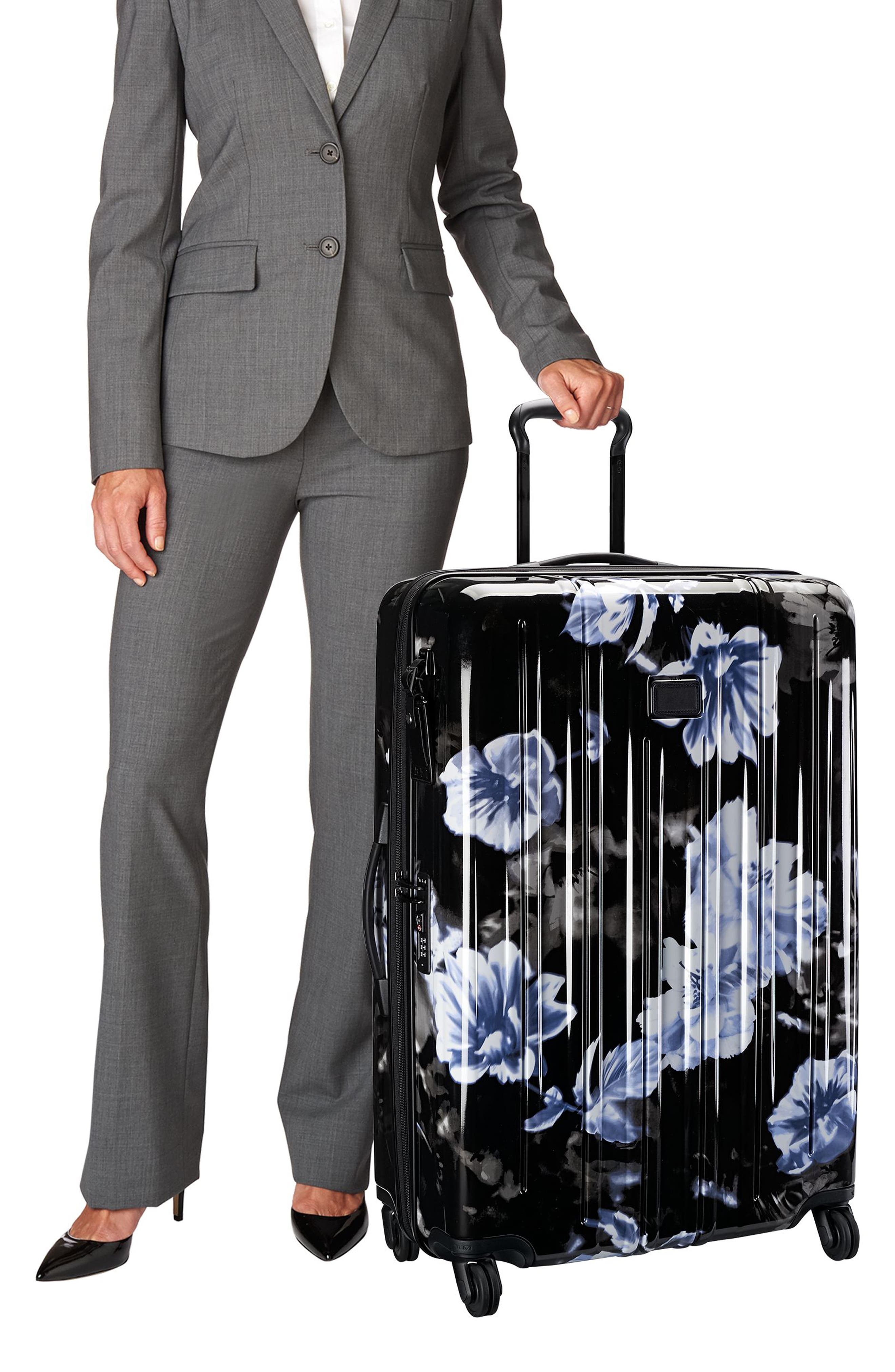V3 31-Inch Extended Trip Spinner Packing Case,                             Alternate thumbnail 2, color,                             Photo Floral