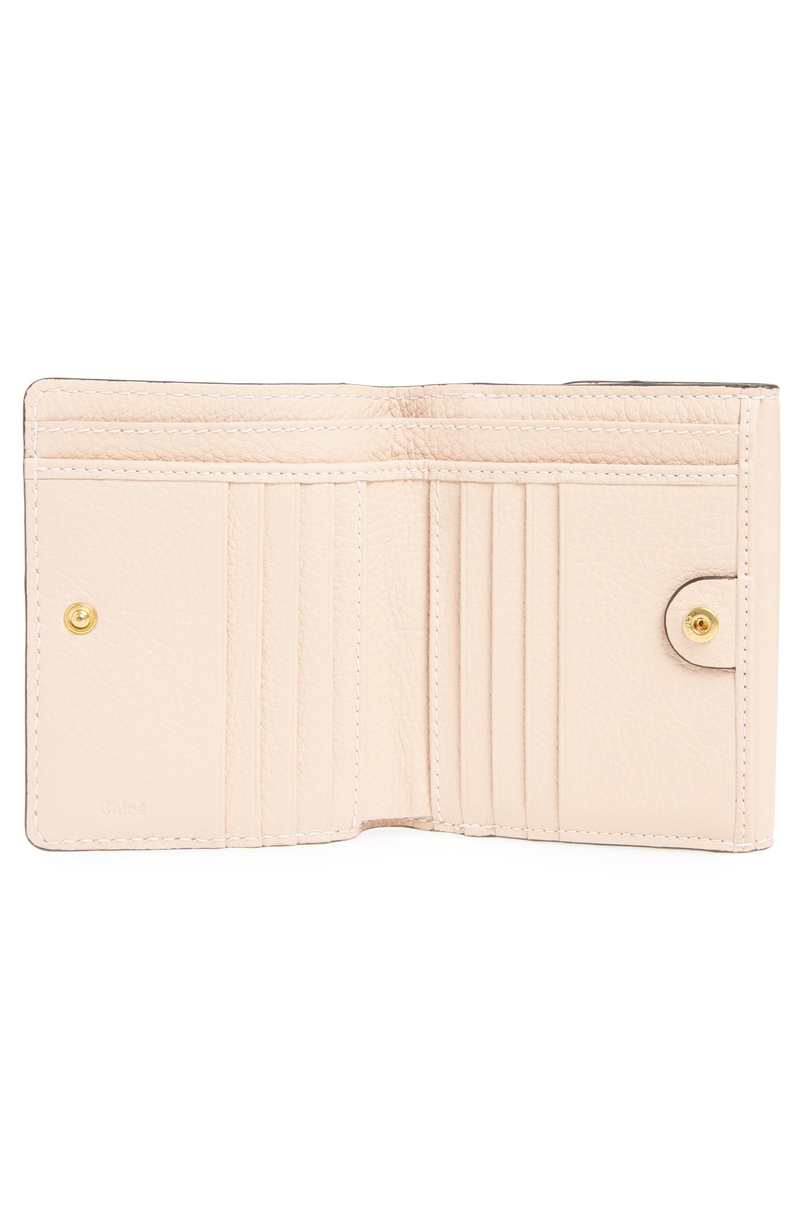 'Marcie' French Wallet,                             Alternate thumbnail 2, color,                             Blush Nude