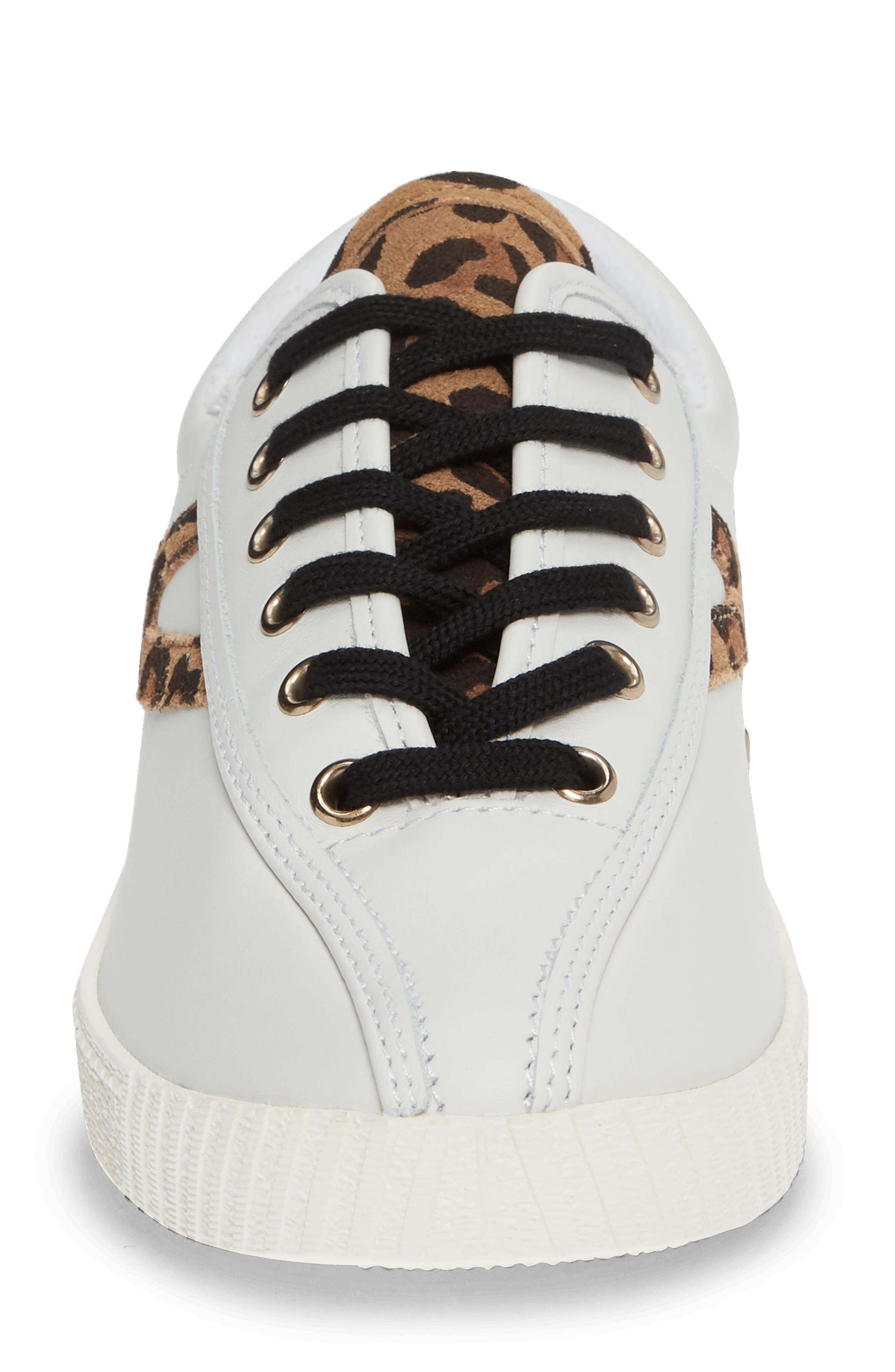 Patterned Sneaker,                             Alternate thumbnail 4, color,                             Vintage White/ Tan Multi