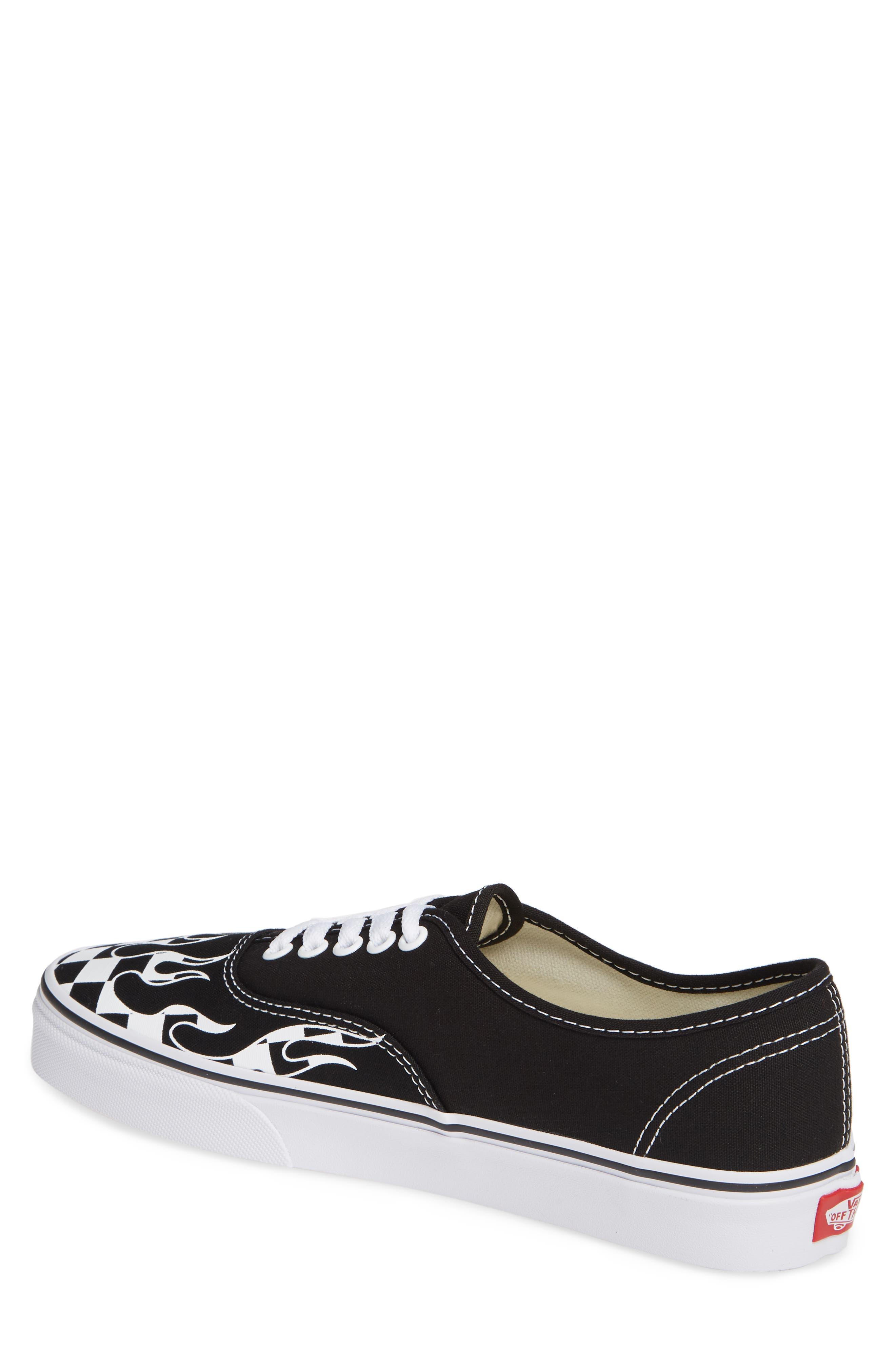 Authentic Sneaker,                             Alternate thumbnail 2, color,                             Black/ True White