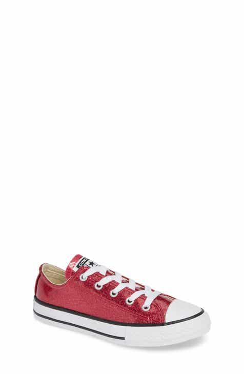 687b82b42106 Converse All Star® Seasonal Glitter OX Low Top Sneaker (Toddler