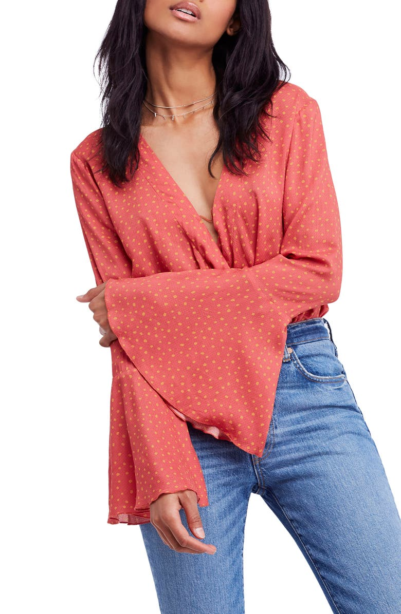 Cute bell sleeve top | Nordstrom