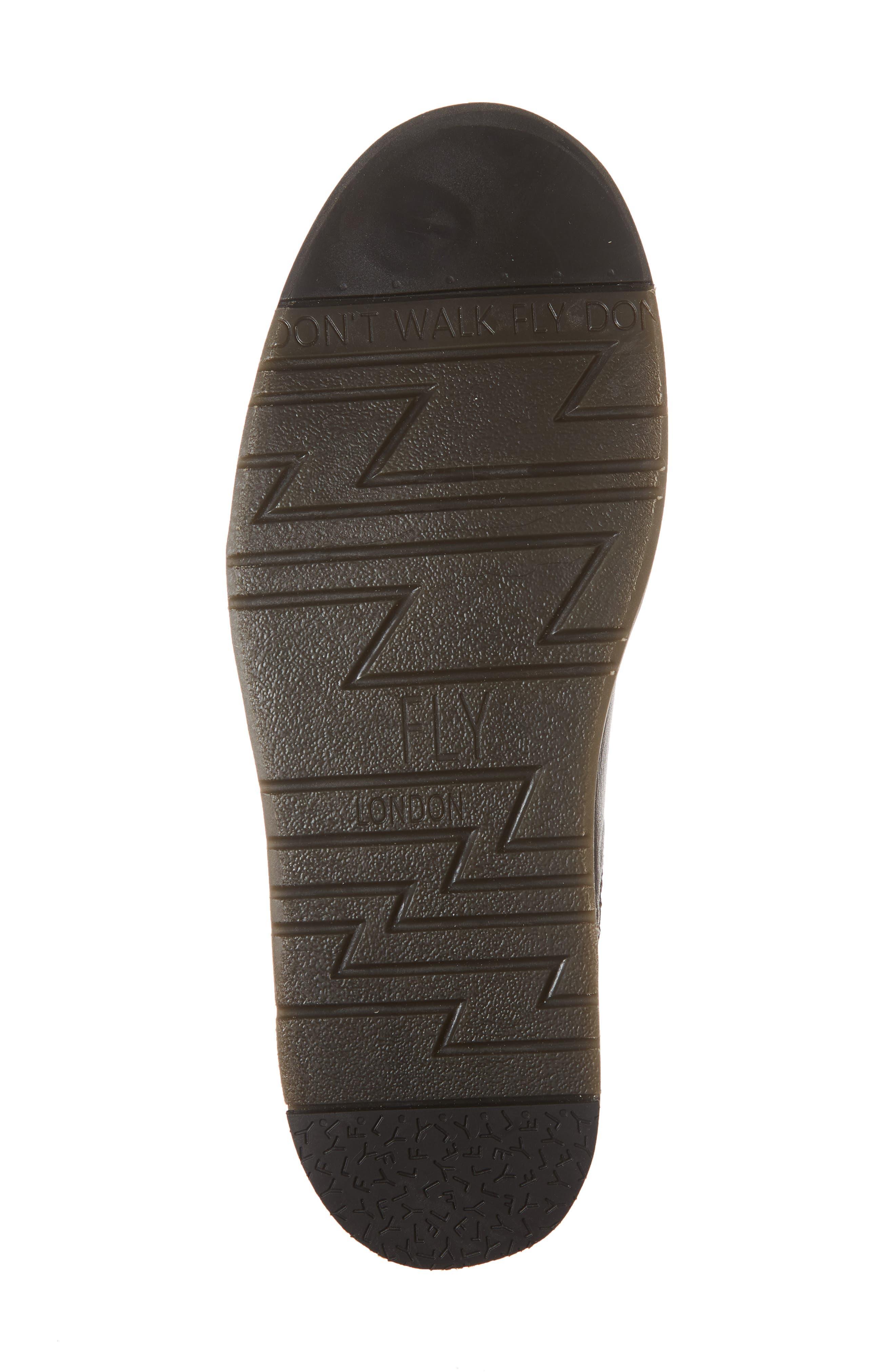 Sern Water Resistant Chelsea Boot,                             Alternate thumbnail 4, color,                             Brown Apso