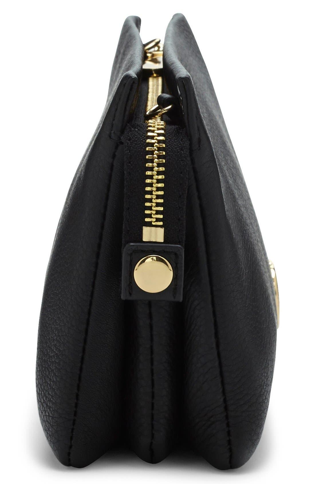Alternate Image 4  - Vince Camuto 'Cami' Leather Crossbody Bag