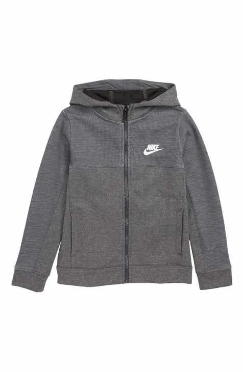 91291615c653 Nike AV15 Zip Hoodie (Toddler Boys   Little Boys)