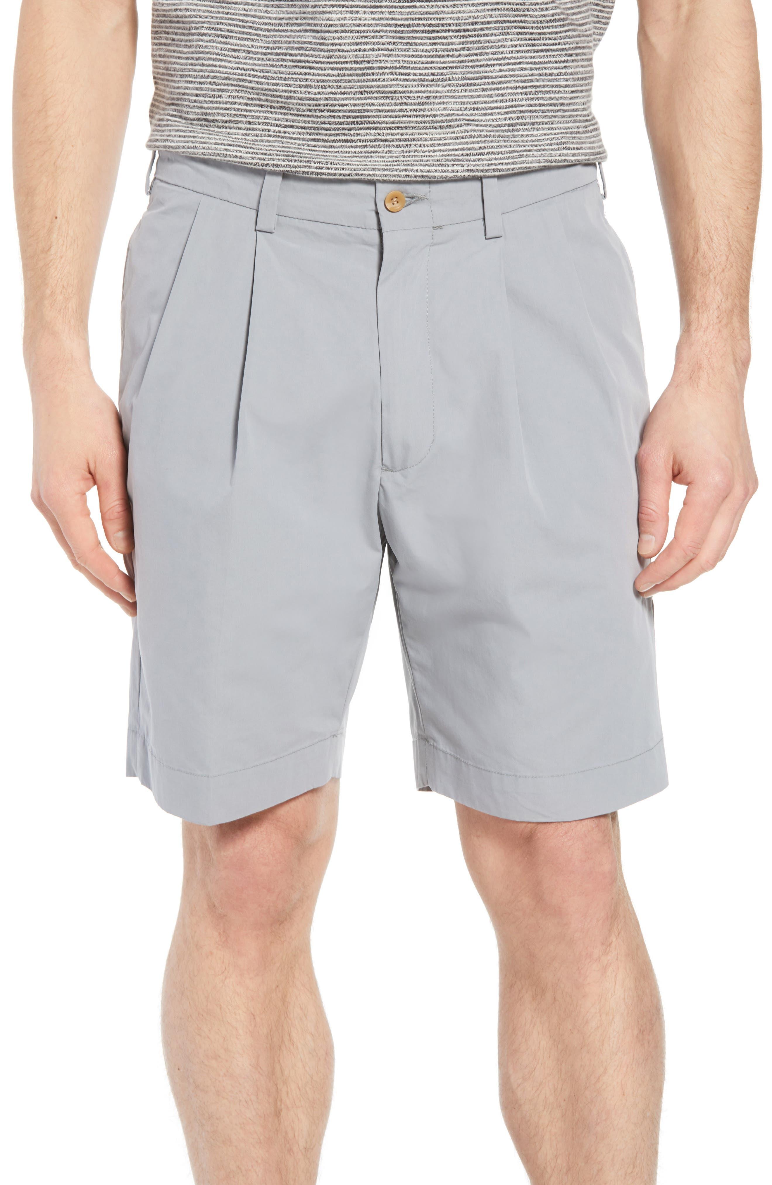 Men s Pleated Shorts  8020e5e19