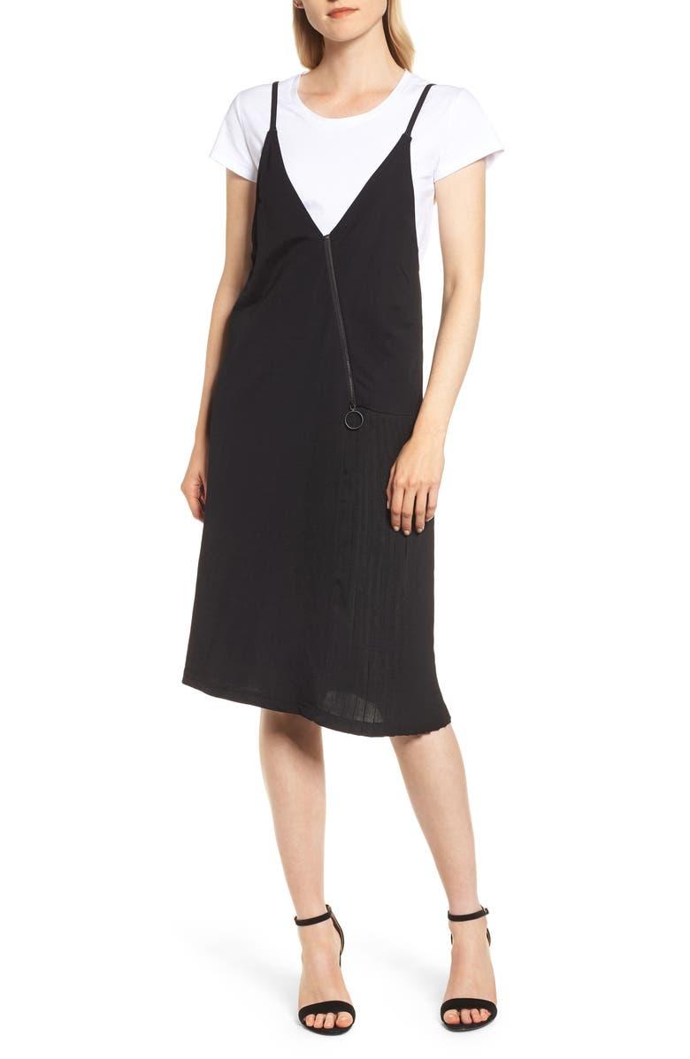 Knit V-Neck Dress