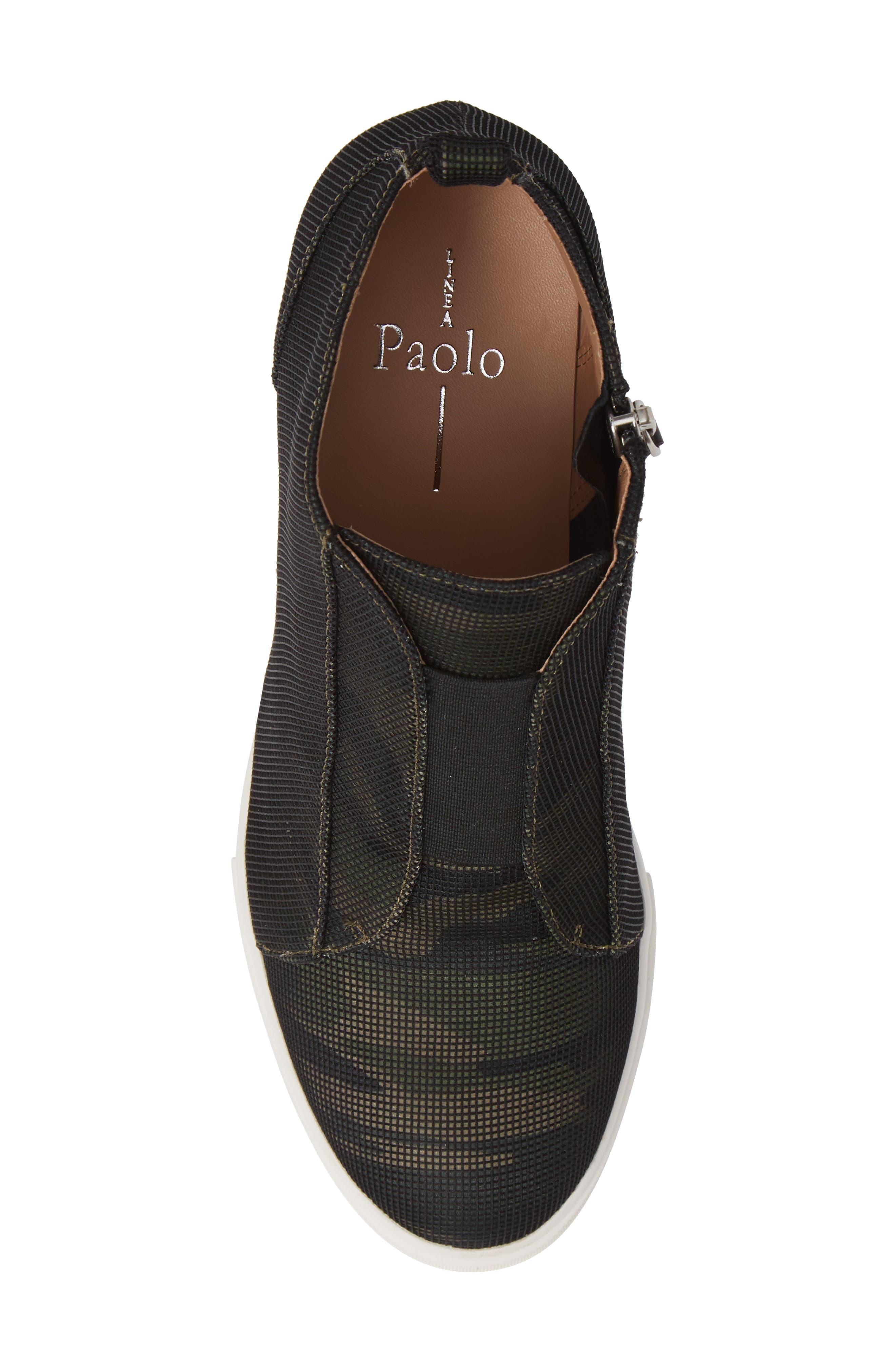 'Felicia' Wedge Bootie,                             Alternate thumbnail 6, color,                             Camo Fabric
