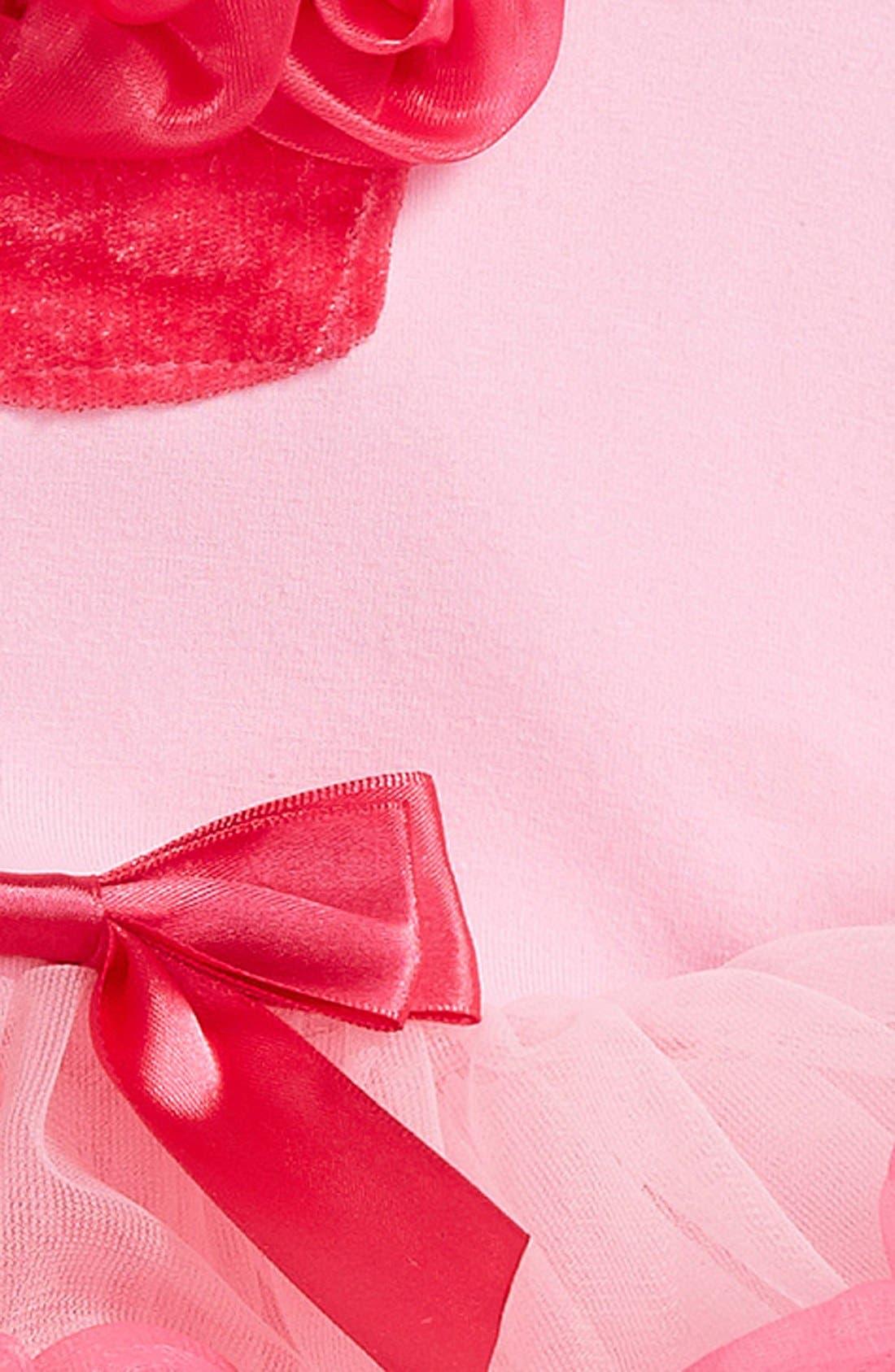 'Birthday' Sleeveless Tutu Dress,                             Alternate thumbnail 2, color,                             Pink