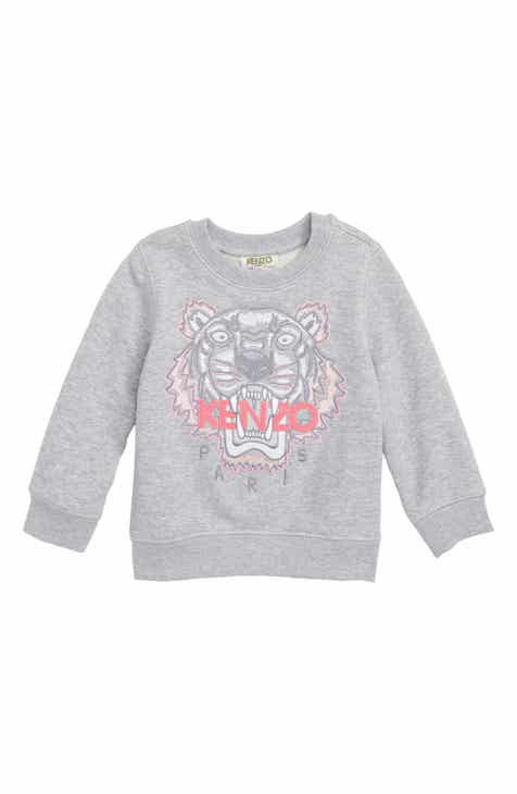 db244647 KENZO Tiger Embroidered Sweatshirt (Toddler Boys, Little Boys & Big Boys)