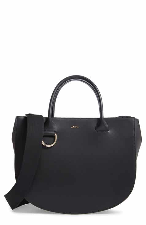 16e239f125e3 A.P.C. Sac Marion Leather Tote