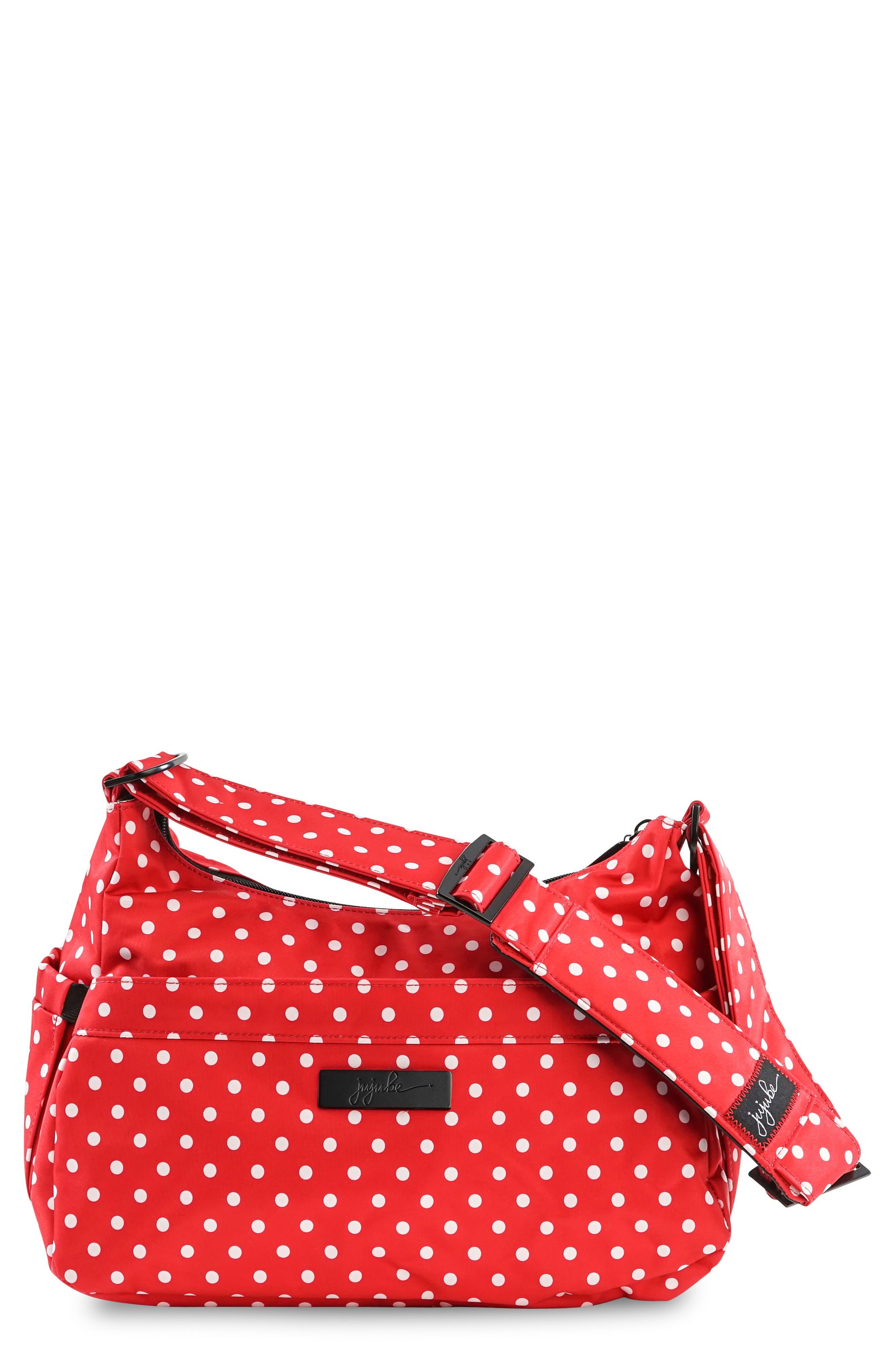 'HoboBe' Diaper Bag,                         Main,                         color, Black Ruby
