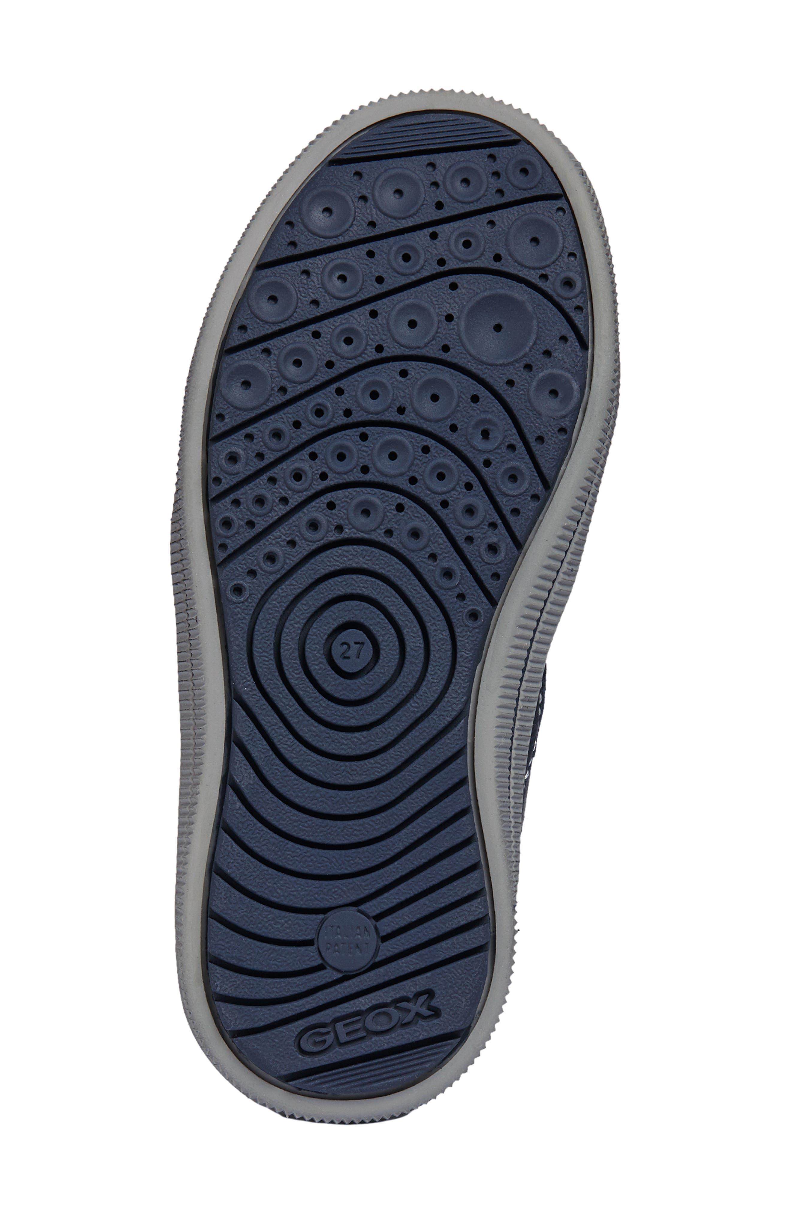 Jr Arzach Sneaker,                             Alternate thumbnail 5, color,                             Navy Blue/ Grey