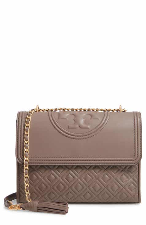 Tory Burch Fleming Leather Convertible Shoulder Bag 4ed49b36f8d38
