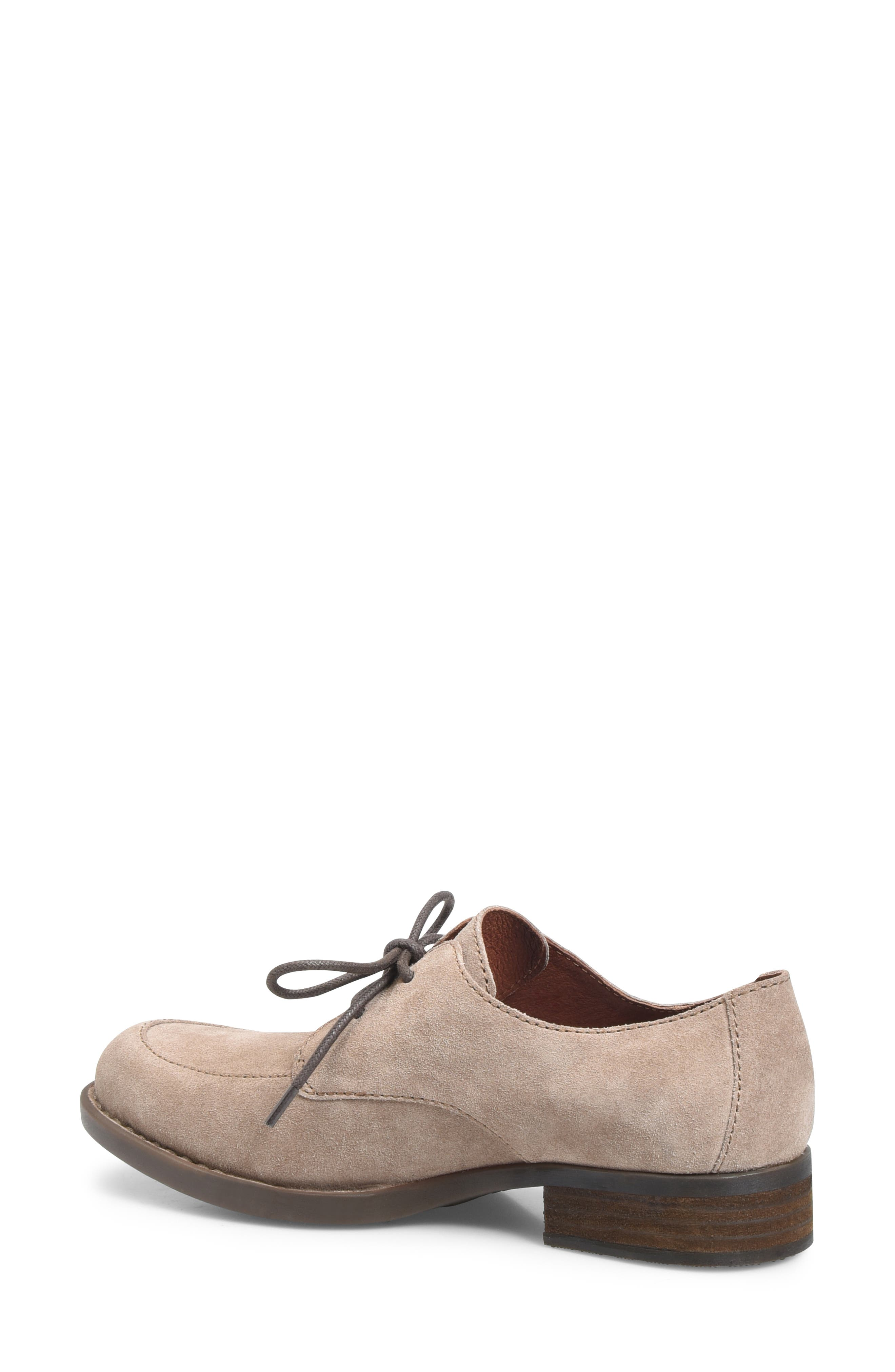 Rora Derby,                             Alternate thumbnail 2, color,                             Taupe Suede