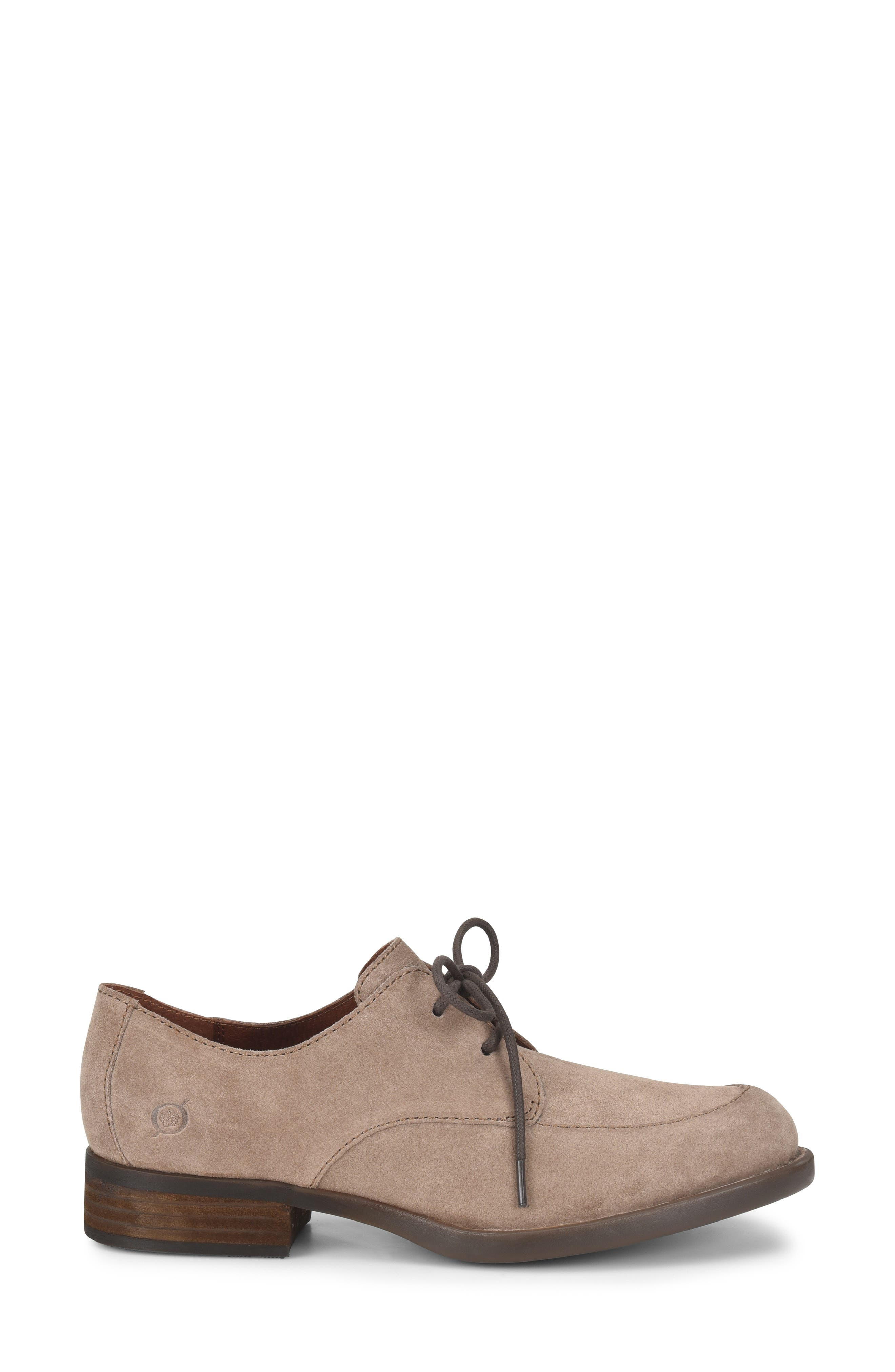 Rora Derby,                             Alternate thumbnail 4, color,                             Taupe Suede