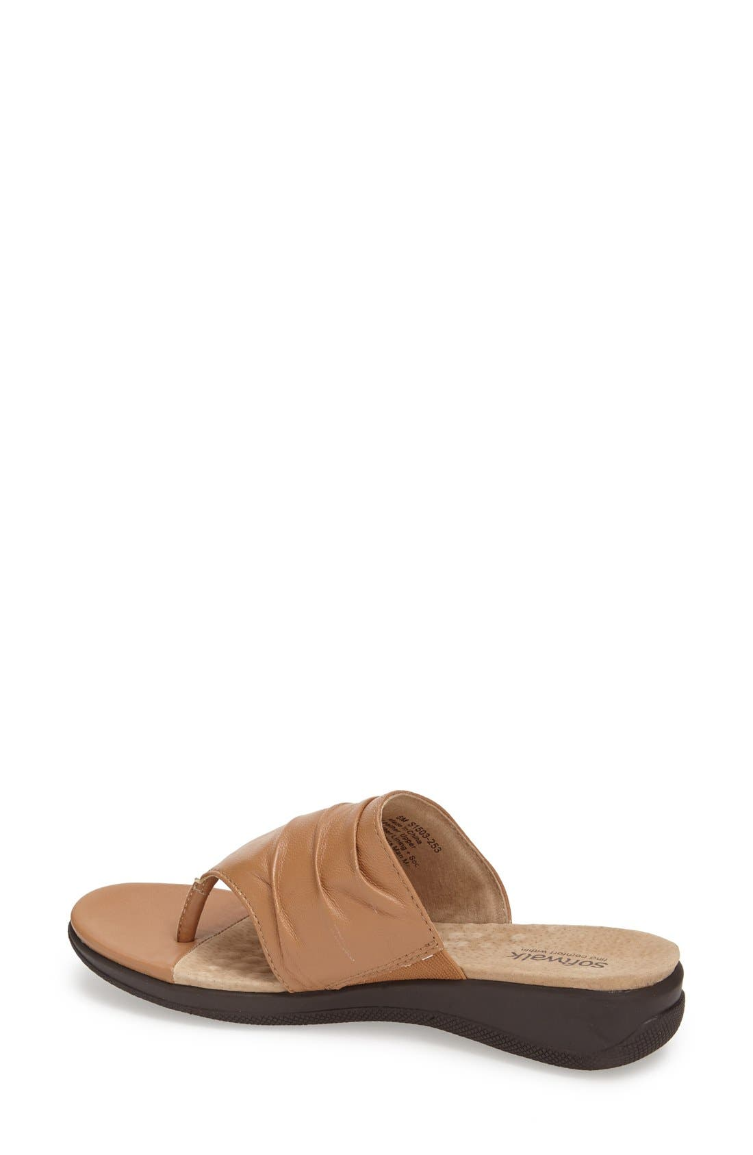 'Toma' Thong Sandal,                             Alternate thumbnail 2, color,                             Tan