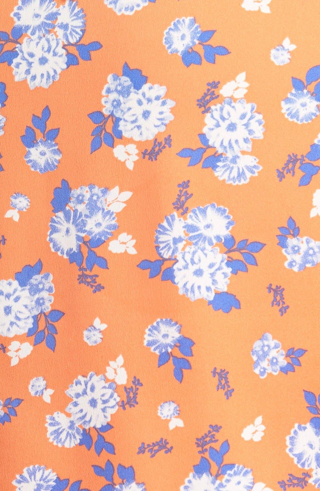 Alternate Image 3  - J.O.A. Print Overlay Dress