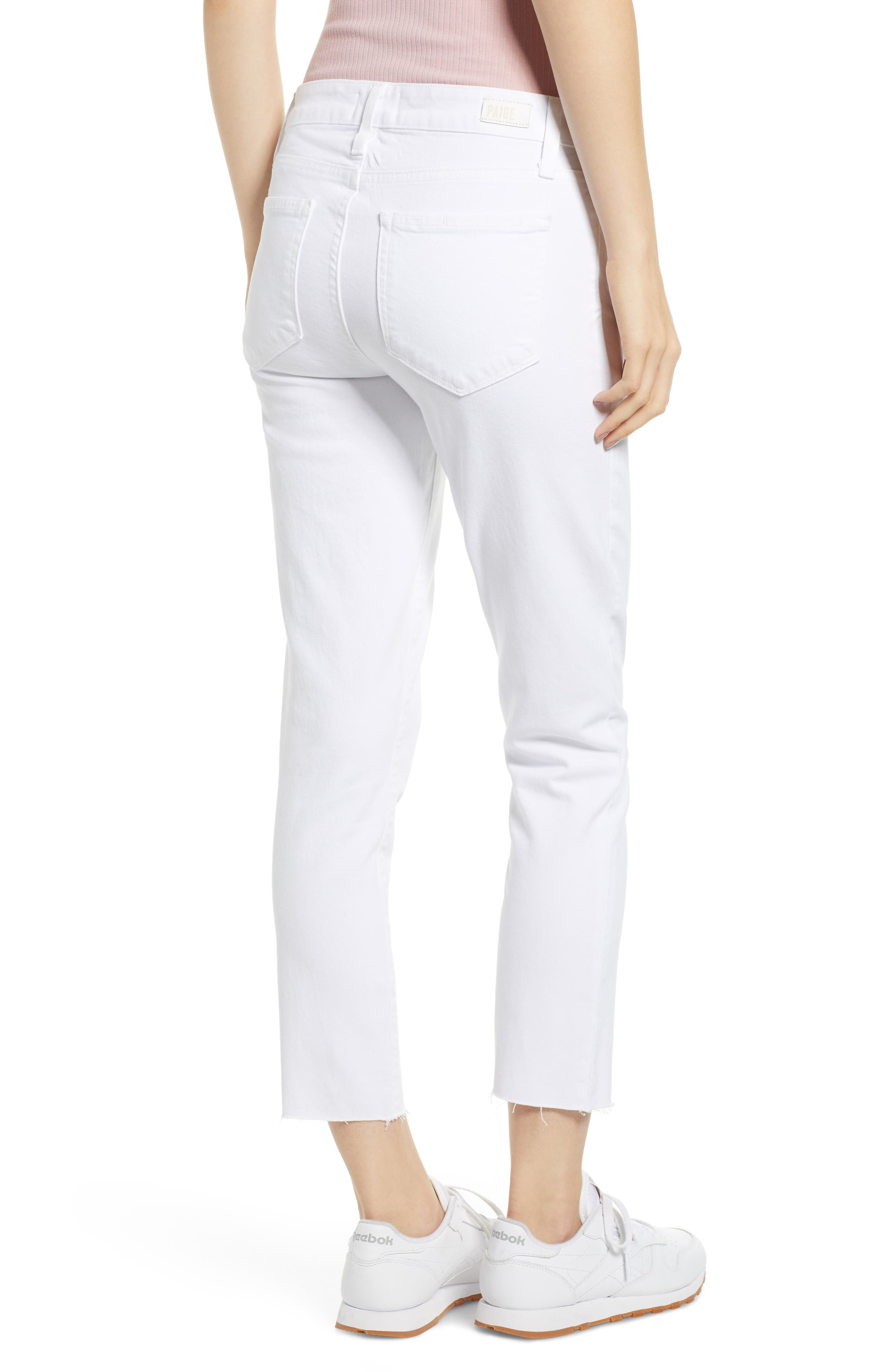 216ae6c2f12 paige white jeans | Nordstrom