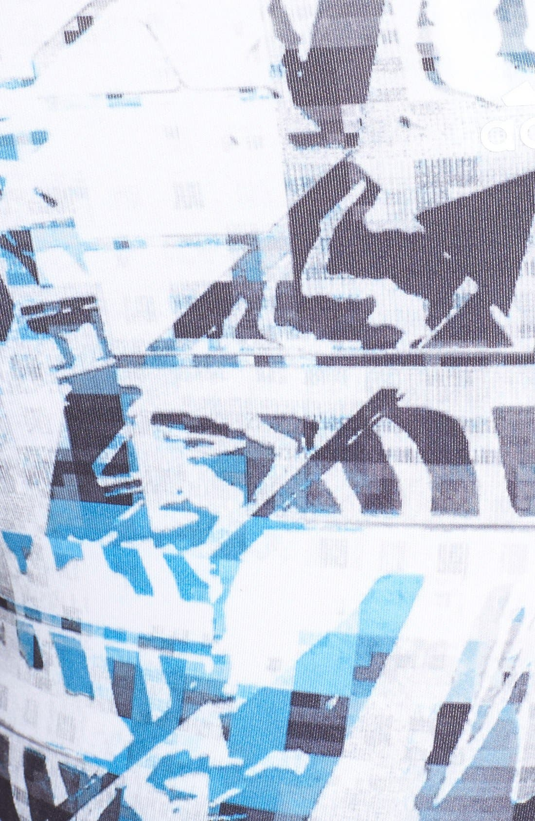 Alternate Image 3  - adidas 'Urban Wild' Print Capris
