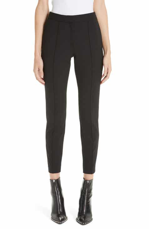 Alexander Wang Pintucked Stretch Wool Blend Slim Trousers by ALEXANDER WANG