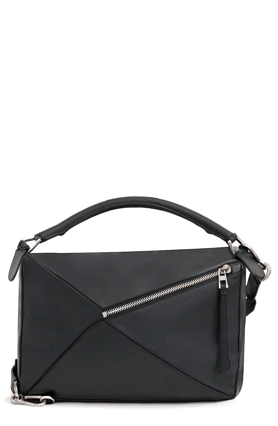 Alternate Image 3  - Loewe 'Large Puzzle' Calfskin Leather Bag