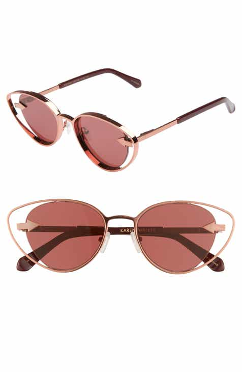 e4e8ec9a424 Karen Walker Kissy Kissy 51mm Cat Eye Sunglasses