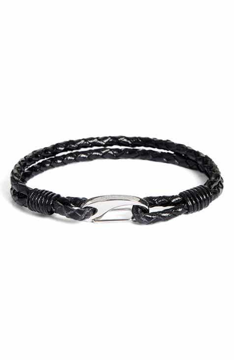 Finn Taylor Braided Leather Bracelet