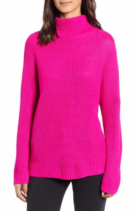 cef094da38 Chelsea28 Stitch Interest Turtleneck Sweater