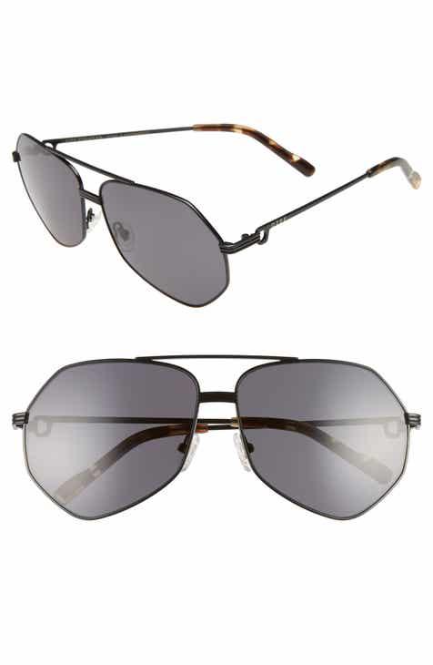 d1abd337cdf DIFF Sydney 62mm Polarized Aviator Sunglasses