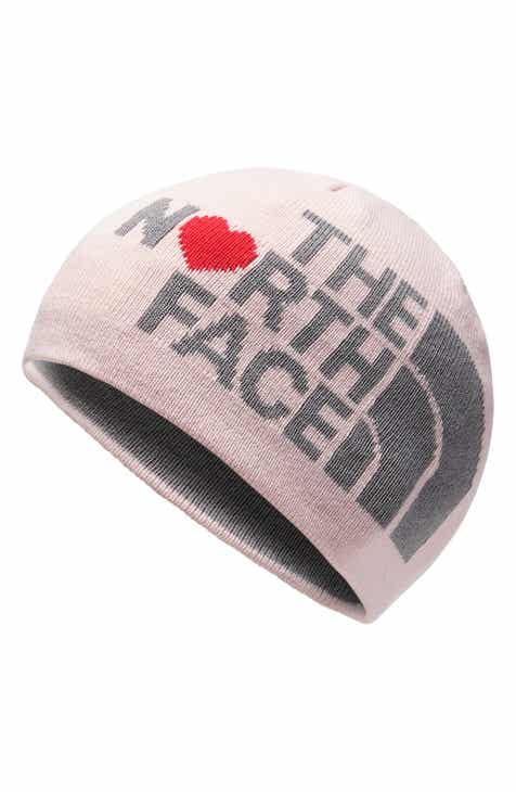 e47518cc67b The North Face Anders Logo Reversible Beanie (Girls)