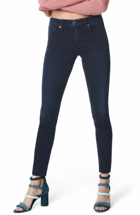 Joe's Flawless - Icon Raw Hem Ankle Skinny Jeans (Cassidie) by JOES