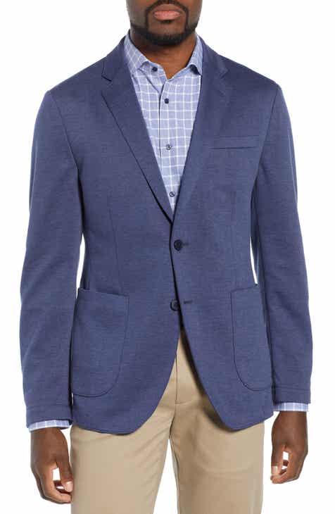 Nordstrom Men's Shop Trim Fit Stretch Comfort Sport Coat