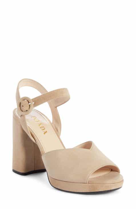86c577f0b909 Prada Platform Sandal (Women) (Nordstrom Exclusive)