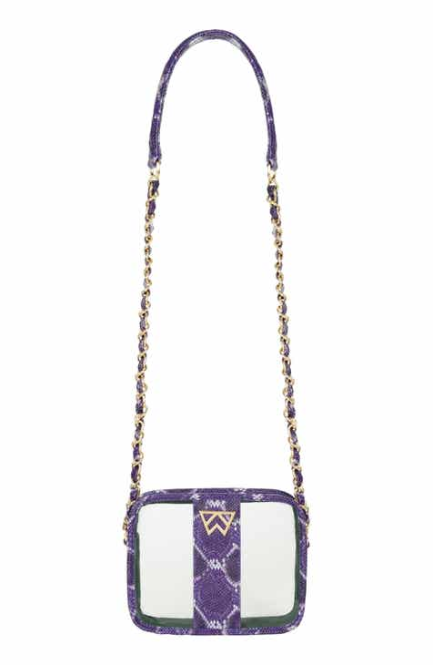 2e856fa2905d Kelly Wynne Clear Mingle Mingle Mini Crossbody Bag