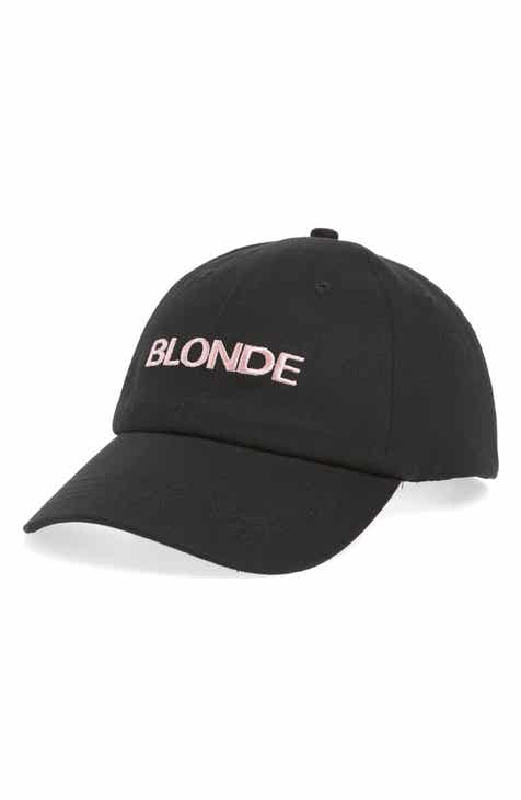 62797585884 BRUNETTE the Label Embroidered Cap