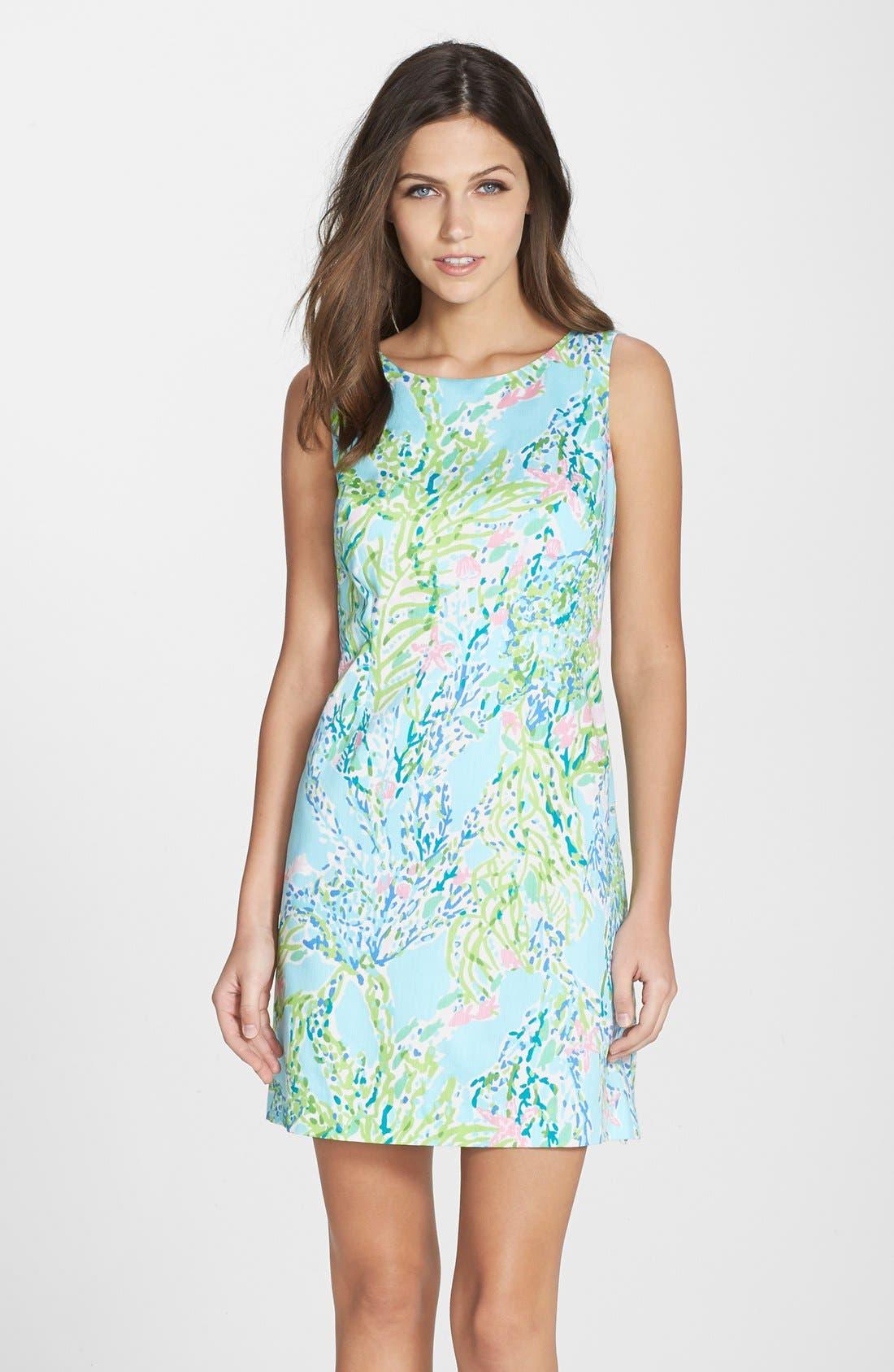 Main Image - Lilly Pulitzer® 'Cathy' Cotton Shift Dress