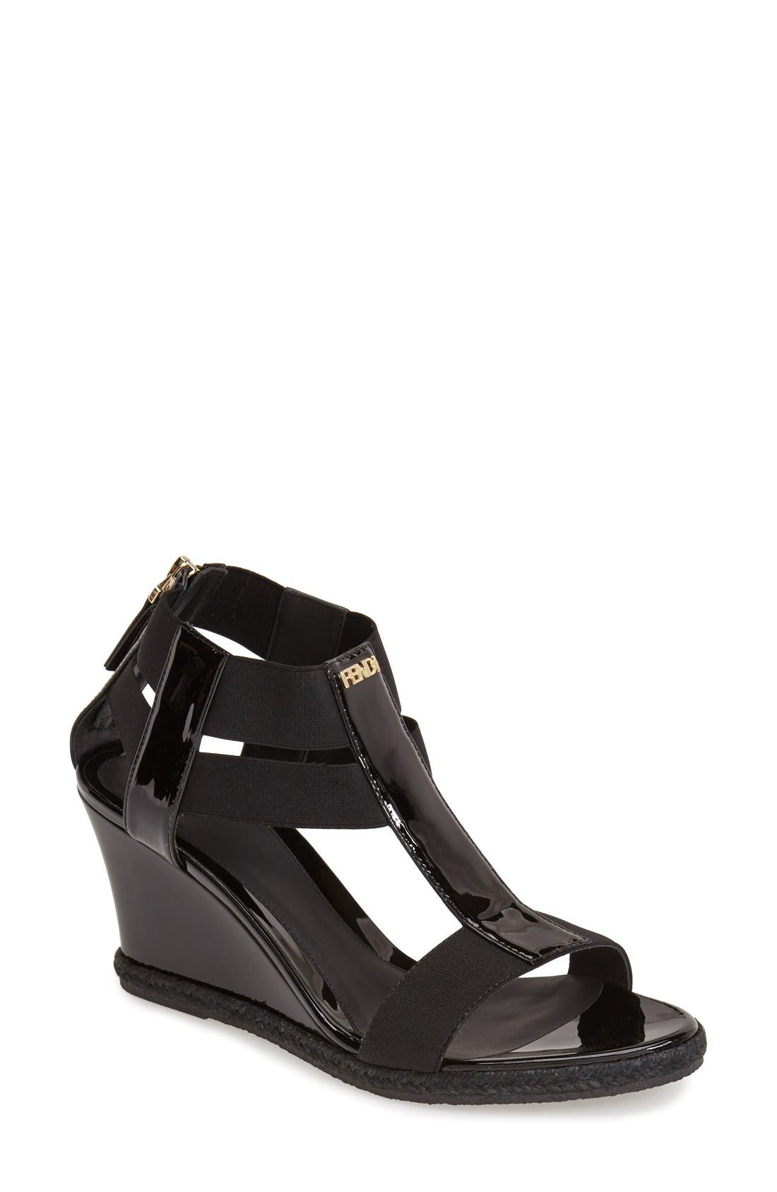 Alternate Image 1 Selected - Fendi 'Carioca' Wedge Sandal (Women)