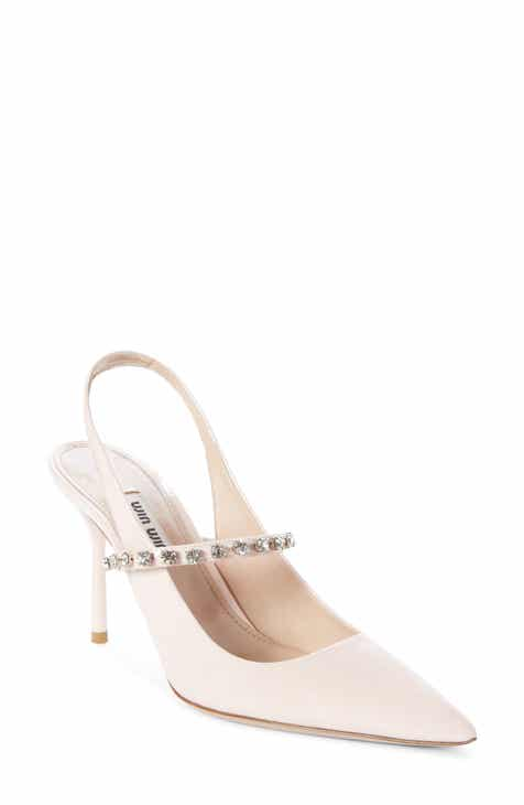 9822422eaa62 Miu Miu Jewel Slingback Pump (Women)