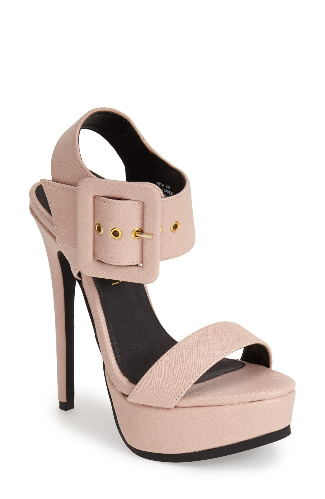 Alternate Image 1 Selected - KENDALL + KYLIE Madden Girl 'Riya' Platform Sandal (Women)