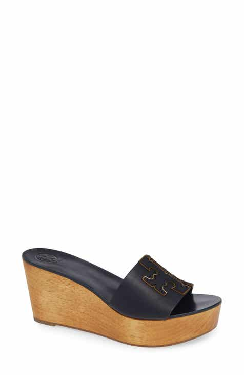 59bcaf4378b7 Tory Burch Ines Wedge Slide Sandal (Women)