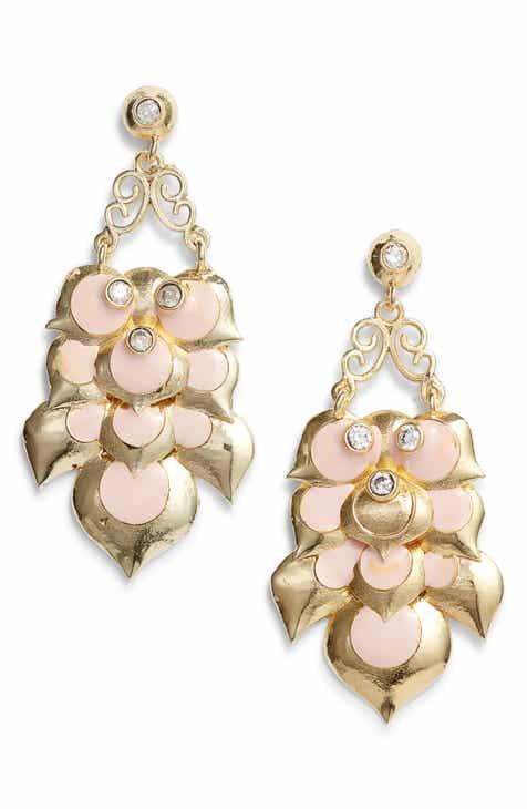 df6f0647c Lux Divine Flora Drop Earrings