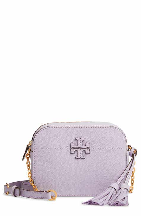 9efe8fd02c63 Tory Burch McGraw Leather Camera Bag
