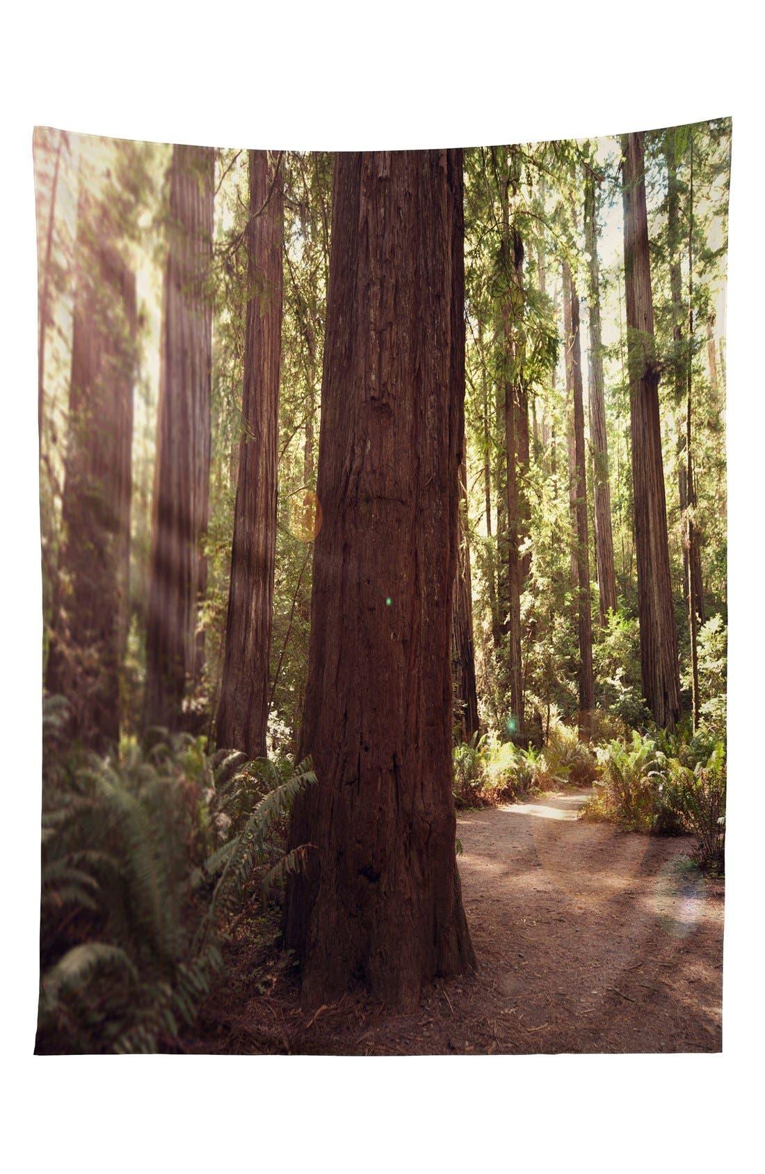 Alternate Image 1 Selected - Deny Designs 'Bree Madden - Redwoods' Tapestry
