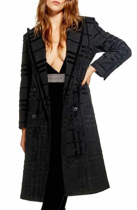 timeless design 1198d 28903 Topshop Rockit Check Coat