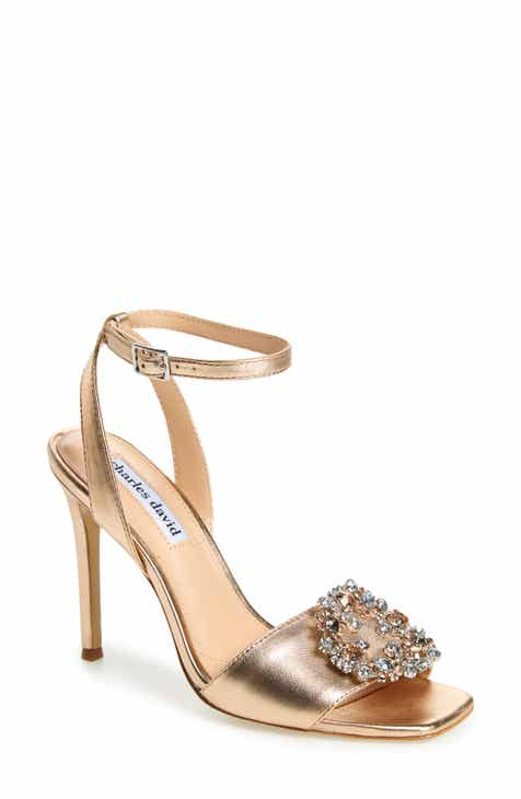 37282349eb0 Charles David Vanity Crystal Embellished Sandal (Women)