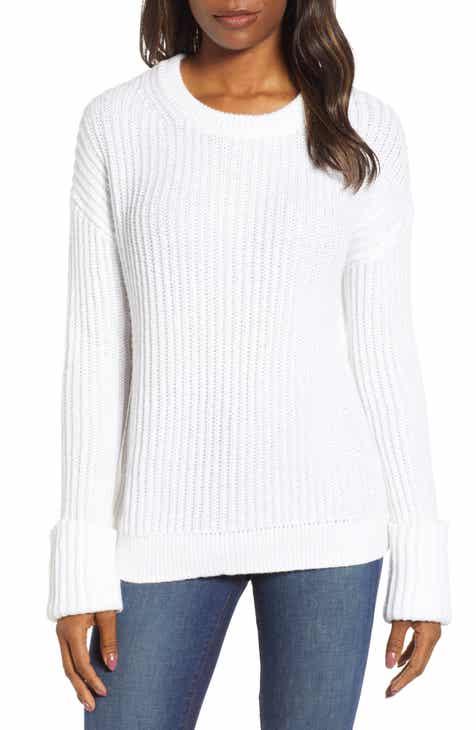 2bdf86ca75fca Caslon® Cuffed Sleeve Shaker Sweater (Regular   Petite)