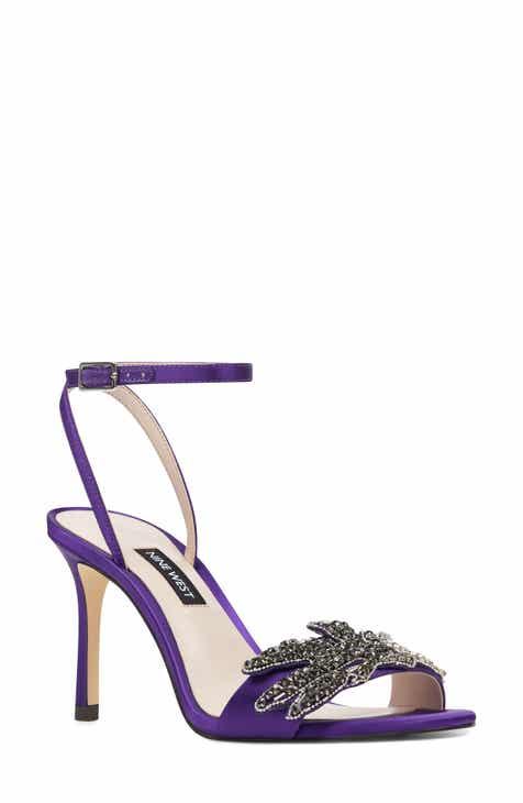 f3244f14b8d Nine West Jamielee Embellished Ankle Strap Sandal (Women)