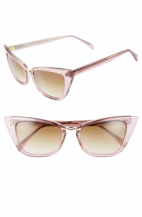 e44f12b97df80 Oscar de la Renta x Morgenthal Frederics Twist 55mm Gradient Cat Eye  Sunglasses