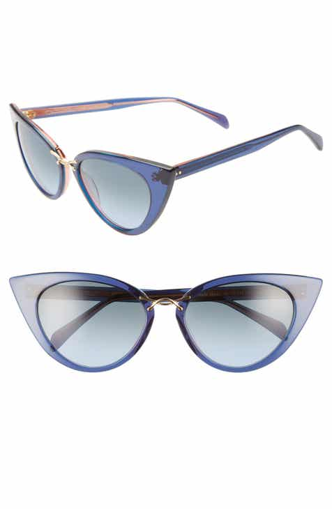 ff18a26987276 Oscar de la Renta x Morgenthal Frederics Twisti 58mm Cat Eye Sunglasses